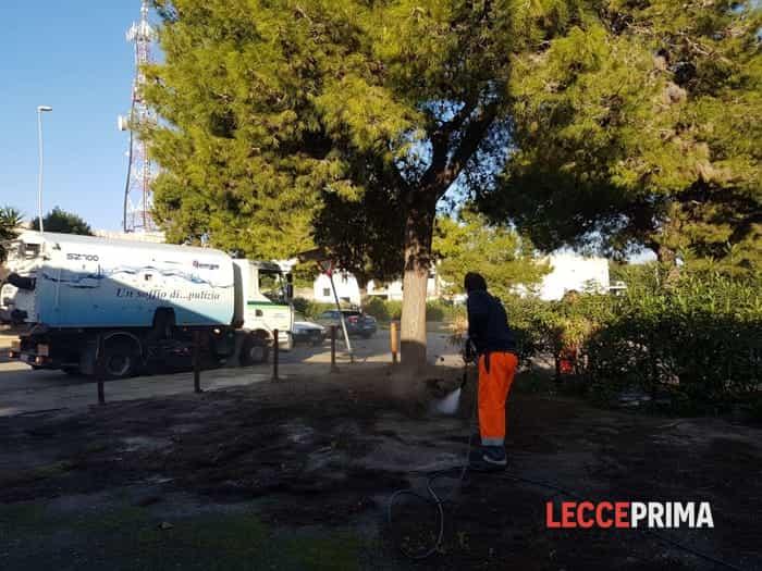 Cittadini e amministratori insieme per pulire San Sabino