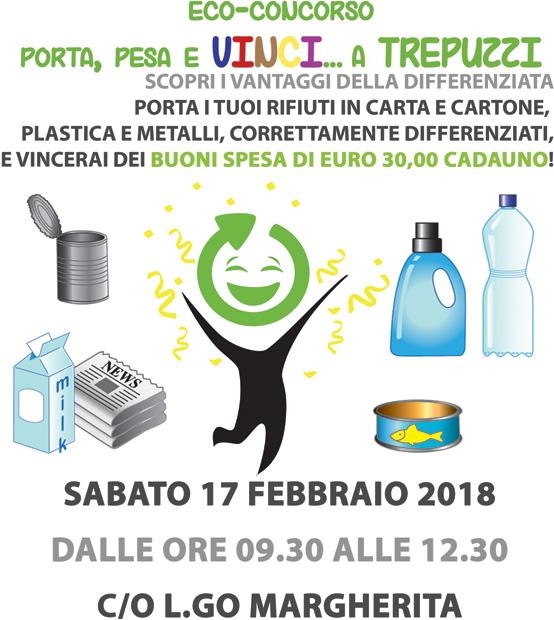 Trepuzzi.  1^ edizione dell'eco-concorso Porta, Pesa e Vinci